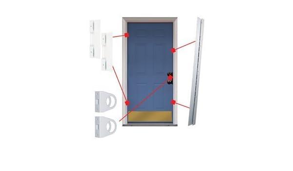 Conjunto de reparación de armadura de puerta universal y jamba: Amazon.es: Amazon.es