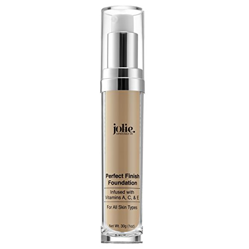 Jolie Perfect Finish Liquid Foundation Makeup SPF 15 Oil Free ()