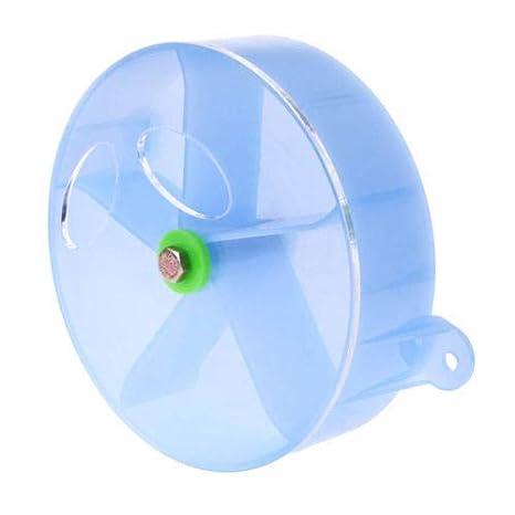 FidgetFidget Toy Wheel Foraging Feeder for Parrot Pet Bird Treats Extra Large DFGBlue