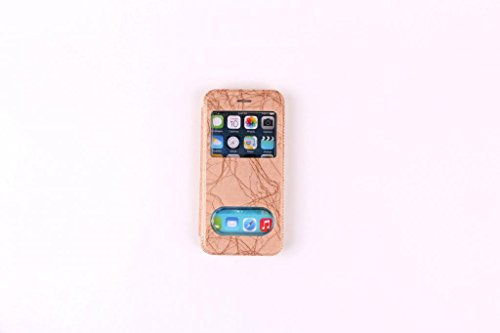 Iphone 6/6s S View Cream Case Cover for Apple Iphone 6/6s by G4GADGET®