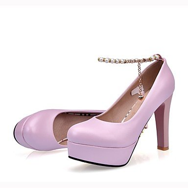UK4 Formal Novelty EU37 5 Outdoor Women'S Heels Customized Walking US6 Casual Soles Comfort amp;Amp; Light CN37 Materials 7 Spring Fallwedding RTRY 5 Leather Shoes Office 5 CBtqYww
