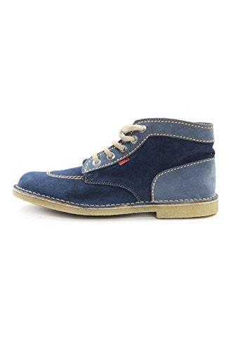 Kickers Suede Mid Shoes mod. Original-M Color Avion/Jeans EU47