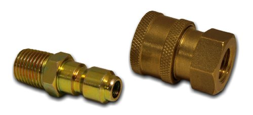 "Apache 98441022 1/4"" Quick Disconnect Pressure Washer Adapter Set"