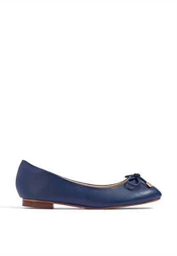 Mary Midnight Ballet Women's Blue Choo Ms Flats 5wvx7qgfOa