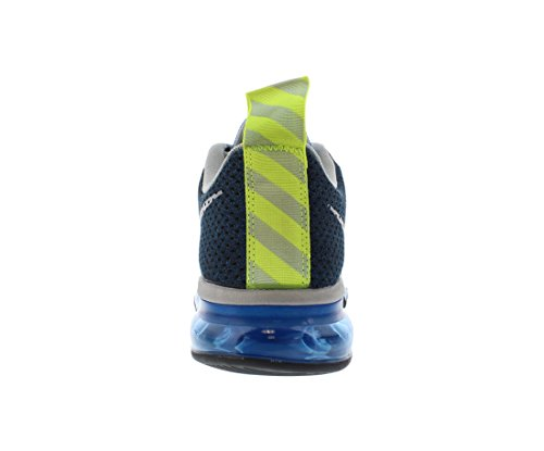 bff7c47a2ea9b NIKE Air Max Motion Men Shoes Photo Blue Volt Black Light Magnet Grey  631767-401