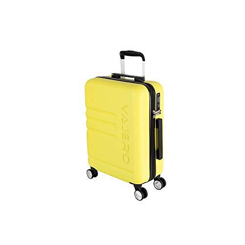 VAJERO   Hard Sided Trolley,Travel, Cabin Luggage 20 Inch Yellow Trolley Bag