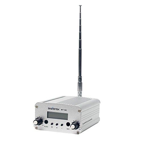 Signstek 5C 5W FM Transmitter Mini Radio Stereo Station PLL
