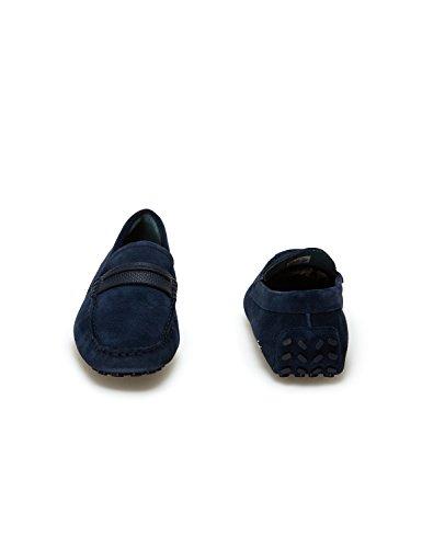 118 1 Herron Marineblau 2S3 Blau Lacoste Mokassins 867fEn
