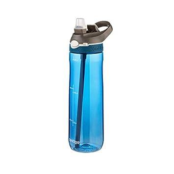 Contigo Ashland - Botella de hidratación, Color Azul Mónaco, 720 ML: Amazon.es: Deportes y aire libre