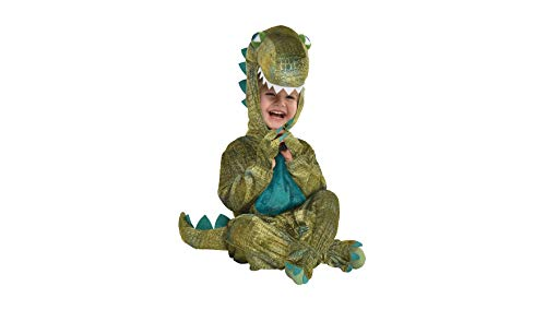 Amscan Unicorn Halloween Costume for Infants, 12-24 Months, with Attached Hood