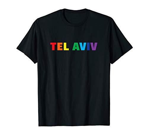 - Tel Aviv Israel Rainbow LGBT Gay Pride T-Shirt