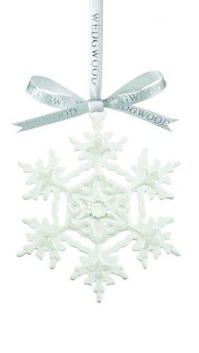 Wedgwood White Snowflake, Christmas Ornament