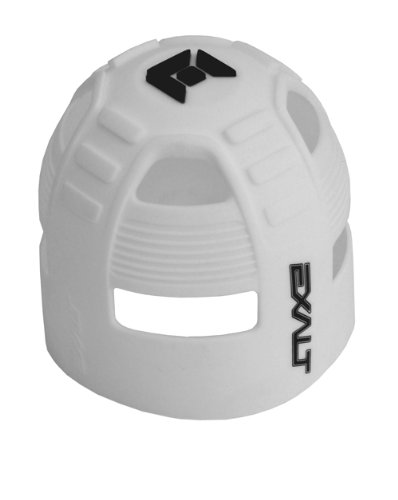 Exalt Paintball Tank Grip - 45-88ci - White/Black by Exalt