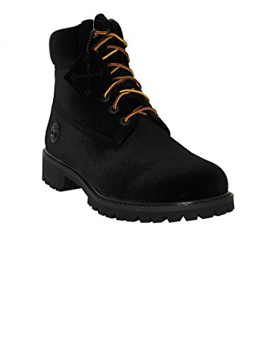 OMIA054F174780941000 Uomo Camoscio Sneakers Top Hi OFF Nero WHITE xq7XCC