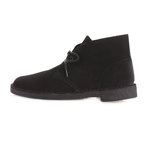 Wildleder Desert Herren Boots Schwarz Casual Originals Clarks Schuhe rY7qIY