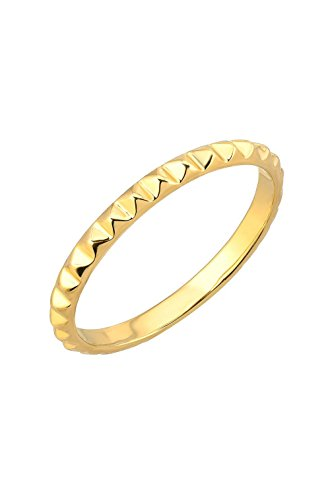 14k gold spike ring by Zoe Lev Jewelry