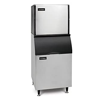 Ice-O-Matic ICE1006HW Water Cooled Half Cube Ice Machine (Up to 960 lbs per 24 hrs) 208-230V/60/1Ph