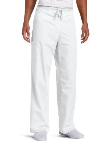 Dickies Big Everyday Unisex Scrub Pants,White,4X-Large