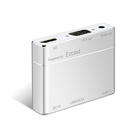 Nueva próximos Ezcast HDMI VGA Audio fundido Airplay DLNA 1080p de ...