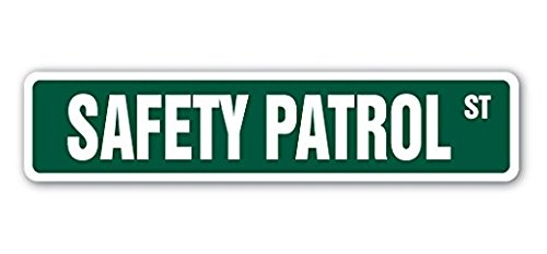 Lancy's Artwork SAFETY PATROL Street Sticker Gift Crossing Guard School Traffic Junior Student Jr - Sticker Graphic - Sticks to any smooth surface
