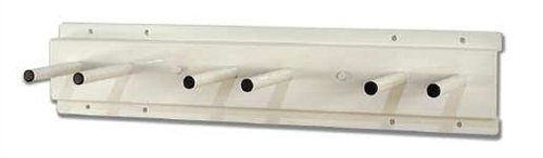 X-Ray Wall Mounted Lead Apron Peg Boards - 2 Pegs by Colortrieve