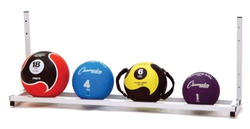 Champion Sports Wall-Mount Medicine Ball Storage Rack by Champion Sports