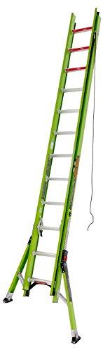 Little Giant Ladder Systems 17824 HyperLite SumoStance 24' Type IA Fiberglass Extension Ladder