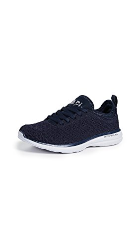 APL: Athletic Propulsion Labs Women's Techloom Phantom Sneakers, Midnight/Steel Grey, 7.5 M US