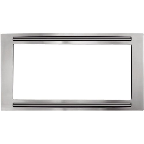 Frigidaire MWTKP30KF Trim Piece, Stainless Steel (24 Built In Microwave Oven With Trim Kit)