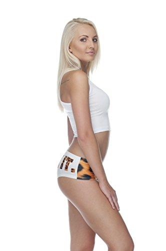 Yoga Leopard Ragazza Pantaloni E Donna It Slip Intimi Da Twerk Mutandine TvO1xY