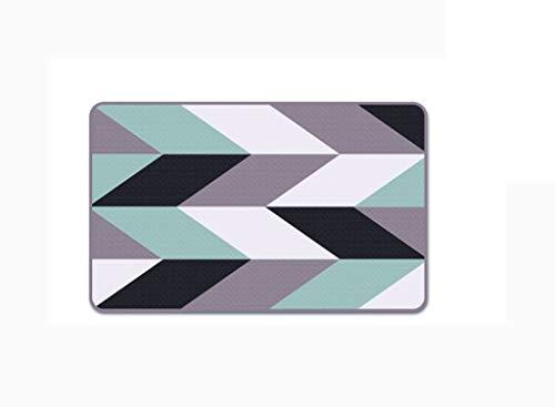 MMZX Carpet, Nylon Bedroom Bedside Strip Footpad Enter The Door Non-Slip mat Rug ()