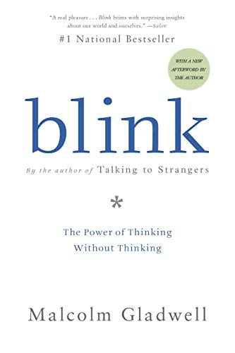 Cover of Blink book by Malcolm Gladwell
