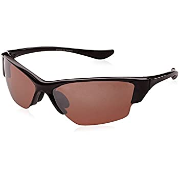 cd78d3f679b8 Polarized Sunglasses with TR90 Unbreakable Frame TRPL27 (Black & Bronze)