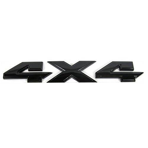 1 OEM RAM 4X4 Emblem Badge Nameplate 3D F for Dodge RAM 1500 2500 3500 Red Frame