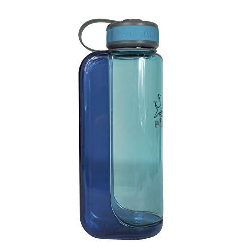 (OllyDog 1030-1000-21 Ocean OllyBottle Water Bottle, 1 L)