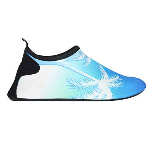 Water Shoes Surf Dry Tree Womens Exercise Beach Vaincre Yoga Mens Quick for Coconut Gradient Blue Aqua Socks Swim Barefoot and qIOSt