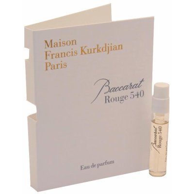 Maison Francis Kurkdjian BACCARAT ROUGE 540 Eau de Parfum Vial Spray 2ml / 0.06 fl oz ()