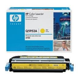 NEW HEWLETT PACKARD OEM TONER FOR HP COLOR LASERJET 4700 - 1-643A SD YELLOW TONER by HP