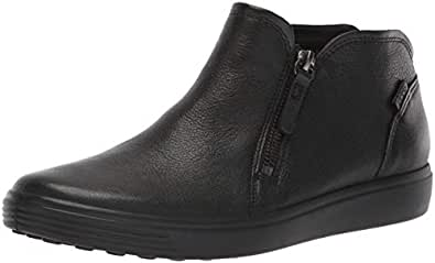 ECCO Women's Soft 7 W Boots, Black, 35 EU