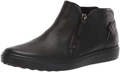ECCO Women's Soft 7 W Boots, Black, 35 EU