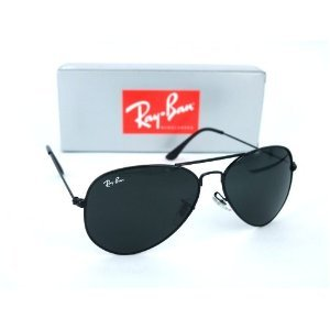 ray ban sunglasses black lens  brand new 3025bb ray ban aviators sunglasses black frame, black lens, rayban aviator