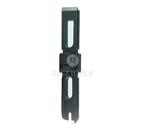 Replacement Blade for Punch-Down Impact Tool 66/110 Type combo by Rigztools - Features Dual Sides - Black – Perfect as a Replacement Blade or Spare (Type 66 Blade Replacement)