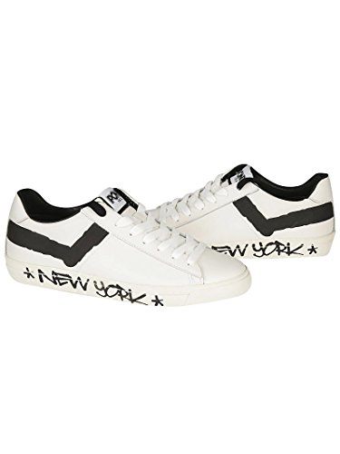 Pony Sneaker Bianco Black Nero Star Pony Top White Ox Sneaker 1AB5xwq