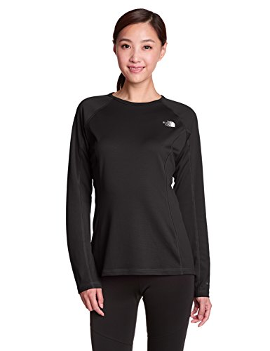 North Face Running Jacket (The North Face Warm Long Sleeve Crew Neck Base Layer Women's TNF Black M)
