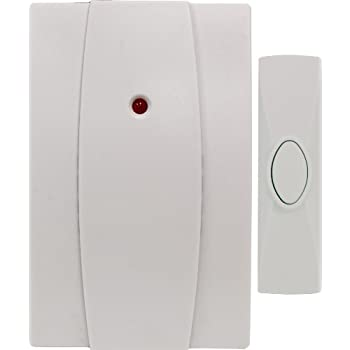 GE Wireless Door Chime, Plug In 19216
