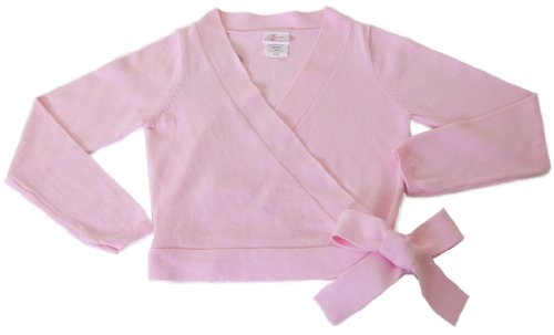- Basic Moves Adult Warm-up Dance Sweater Cotton Blend- Pink Small/Medium