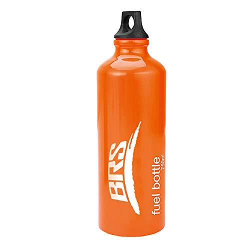 Fuel Oil Storage - Tentock Aluminium Fuel Bottle Outdoor Picnic Oil Bottle Motorcycle Emergency Petrol Storage Can 530ml/750ml/1000ml(BRS-101)