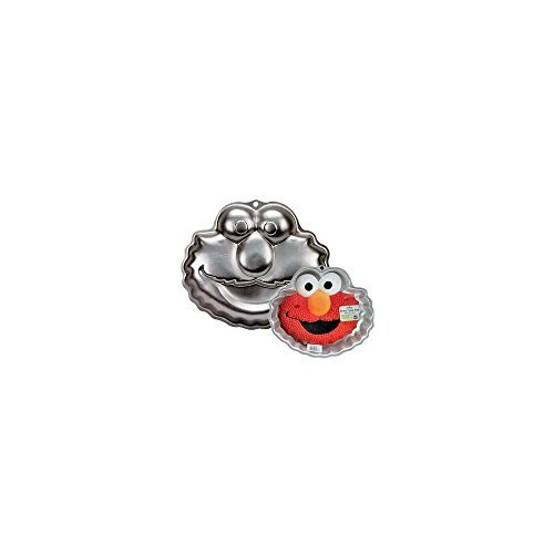 - Wilton Elmo Face Cake Pan Mold (2105-3401, 2002) ~ Sesame Street Muppets by Jim Henson ~ Retired