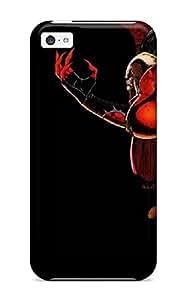 Fashion Tpu Case For Iphone 5c- Devil Defender Case Cover