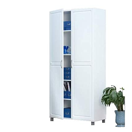 Amazon.com: OA TSR 2 Door Wooden Storage Unit, Wide Kitchen ...